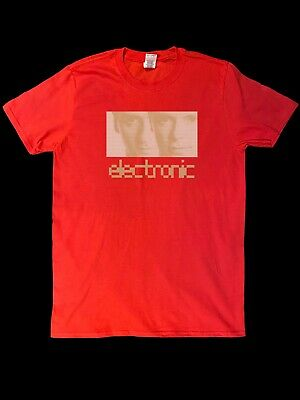 £14.99 • Buy ELECTRONIC T-SHIRT - Smiths New Order Joy Division Pet Shop Boys Influence