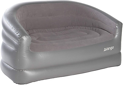 £46.32 • Buy Outdoor Sofa Inflatable Camping Couch Portable Chair Festival Beach Lounger Grey