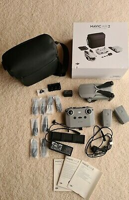 AU1450 • Buy DJI Mavic Air 2 Fly More Combo 4K Drone, Hardly Use In Excellent Conditions