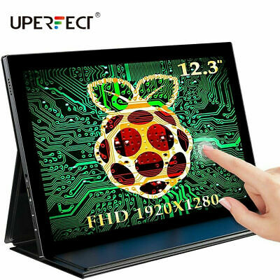 AU219.99 • Buy Raspberry Pi 4 Display 12.3 Inch Monitor UPERFECT TouchScreen Portable For PC AU