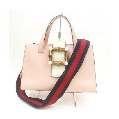 AU455.19 • Buy Gucci Tote Bag  Pinks Leather 2408720