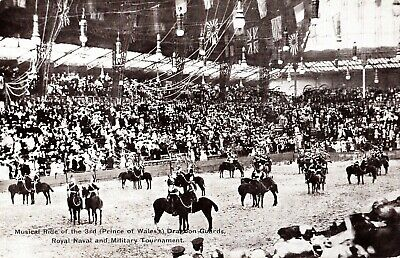 £1.45 • Buy 1914 Postcard: 3rd (prince Of Wales) Dragoon Guards, Naval & Military Tournament