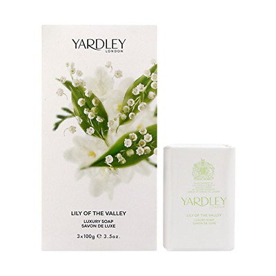 £9.13 • Buy Yardley London Lily Of The Valley Soap, 100 G, 3-Unit Y7410053-6