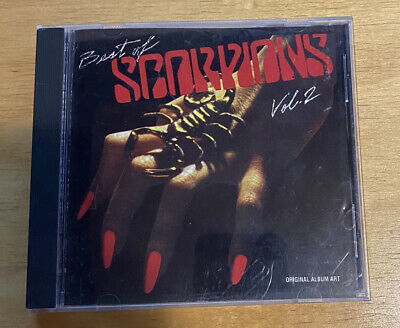 £9.50 • Buy The Best Of The Scorpions, Vol. 2 By Scorpions (Germany) (CD, Mar-1992, RCA)