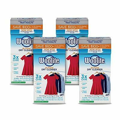 £49.15 • Buy Woolite At-Home Dry Cleaner Dry Cleaning Cloths And Stain Removal Easy To Use...