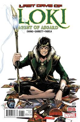 £7.99 • Buy LOKI AGENT OF ASGARD #17 New Bagged And Boarded 1st Printing Marvel Comics Thor