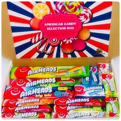 £8.95 • Buy American Sweets Airheads Candy Bars Sweets Airhead Assorted Hamper Gift Box New