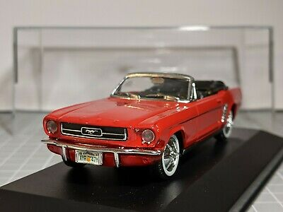 £15 • Buy Ford Mustang Red 1/43 SOLIDO Code 3