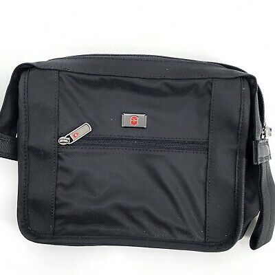 AU18.67 • Buy Victorinox Travel Accessories Bag, Black, Zippered Pouch Lined