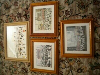 £40 • Buy L S Lowry. 4 Nicely Framed Prints. 3 Measure 38x32 Cms, One Is 47x37