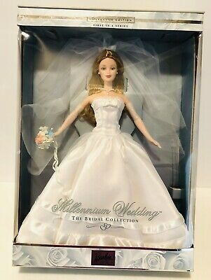 $25.99 • Buy Millennium Wedding The Bridal Collection Collector Edition Barbie New In Box