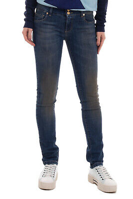 £0.99 • Buy ATOS LOMBARDINI By VIOLET Jeans Size 27 Stretch Faded Dirty Look Made In Italy