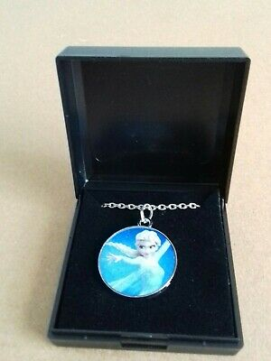 £0.99 • Buy Frozen Elsa Necklace Disney Princess. NEW.  Casting Spell. GIFT BOXED
