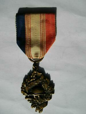 £9.99 • Buy Great War WWI French Medal Military UNC Union Nationale Combatants 1914 1918 A1
