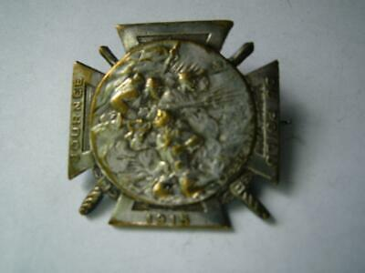 £9.99 • Buy WWI French Medal Military Journee Du Poilu Cross 1915 Hairy Ones War Fund Drive