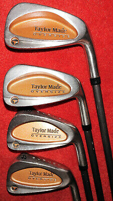 £35.96 • Buy TaylorMade Golf Lot- 4,6,7,9  BURNER OVERSIZE Iron Right Graphite Bubble R-80