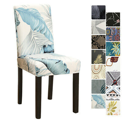 AU5.99 • Buy Dining Chair Covers Stretch Spandex Protector Slipcover Washable Banquet Party
