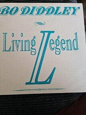£5 • Buy Bo Diddley Living Legend LP Bad Dad  Productions