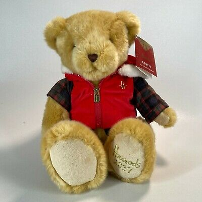 £26.99 • Buy Harrods 2017 Annual Foot Dated Christmas Bear (Bertie) - Excellent Condition