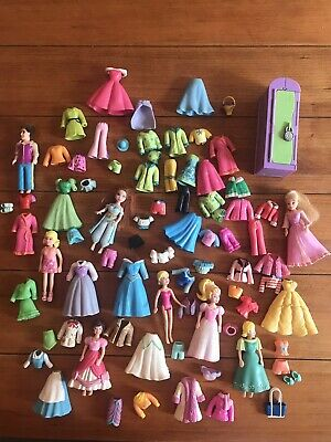 £21.82 • Buy Polly Pocket Dolls And Clothes Lot