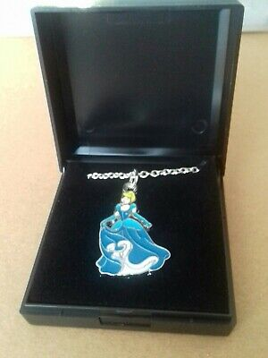 £0.99 • Buy Stunning Disney Princess Cinderella Necklace Pendant And Chain Boxed NEW Girls