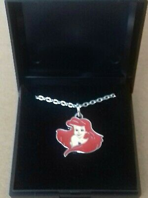 £0.99 • Buy Stunning Disney Little MERMAID Ariel Necklace Pendant And Chain Boxed NEW Girls