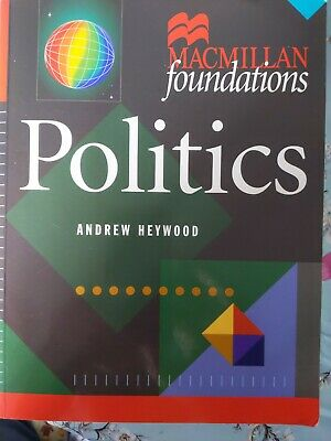 £0.99 • Buy Politics (foundations Series) By Heywood, Andrew 1997