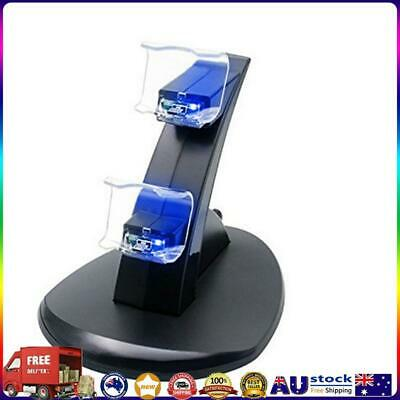 AU12.82 • Buy Controller Charger Dock Station Joystick Dual USB Charging Stand For PS4 *AU
