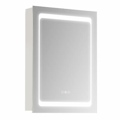 £149.99 • Buy Kleankin LED Lighted Bathroom Mirror Cabinet W/ LED Lights Shelves Wall-mounted