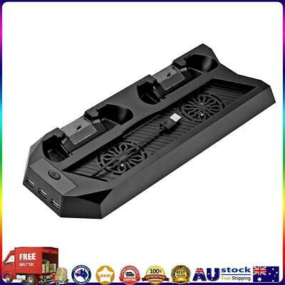 AU27.98 • Buy PS4 Vertical Stand Cooling Fan, PlayStation 4 Console Cooler With Charging *AU