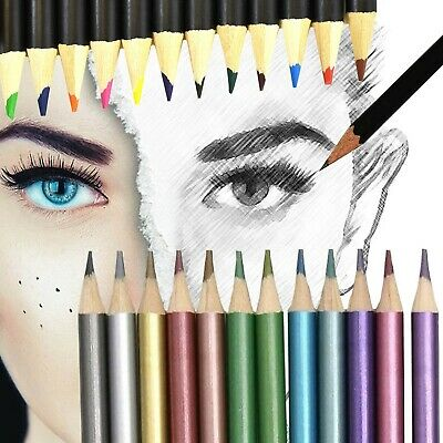 £3.24 • Buy HIGH QUALITY ART PENCIL SETS Metallic/Charcoal/Graded/Watercolour Water Colours