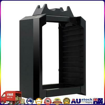 AU35.32 • Buy Vertical Stand Cooling Fan With Game Storage For PS4 Pro Slim Xbox One *AU