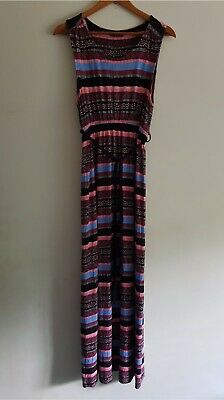 AU28.03 • Buy Blooming Marvellous Maternity Size 16 Sleeveless Stretchy Maxi Dress