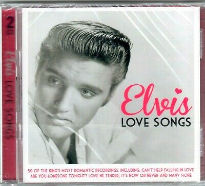 £4.85 • Buy Elvis Presley  ~ 50 Love Songs ( Early Greatest Hits + More ) NEW SEALED 2XCD