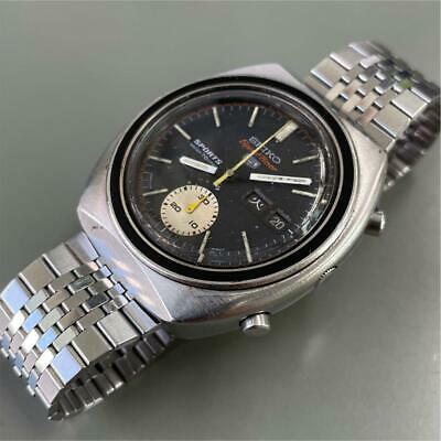 $ CDN460.94 • Buy Vintage Seiko 5 Sports Speed Timer 6139-8000 Automatic Black Dial Mens Watch