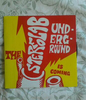 £19.99 • Buy Stereolab The Underground Is Coming 7  EP 1999