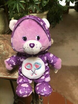 £21.71 • Buy Rare Care Bears 8  PJ Party 2004 Special Edition Share Bear Collectible Plush