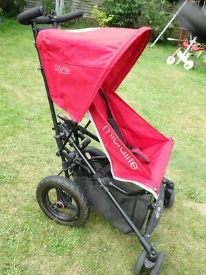 £65 • Buy Micralite Super Lite Classic Red Pushchair