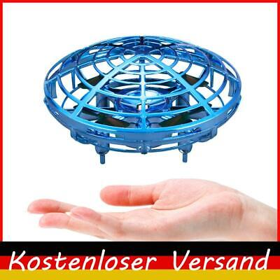 AU16.69 • Buy LED Hand Operated Drone, Motion Sensor Hovercraft, Flying UFO Toy For Kids