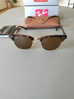 AU62.50 • Buy  Ray-Ban Clubmaster Classic Havana Collection RB3016 902