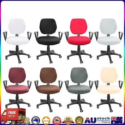 AU11.43 • Buy Spandex Stretch Computer Chair Cover Elastic Home Office Chairs Seat Case *AU
