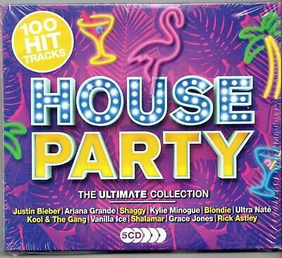 £6.95 • Buy 100 Greatest Hits House Party NEW 5XCD Blondie Madness Rick Astley Tom Jones ETC
