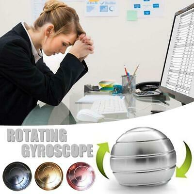 £6.29 • Buy Kinetic Desk Ball Decompression Toy Spinning Tops Finger Gyroscope Rotating