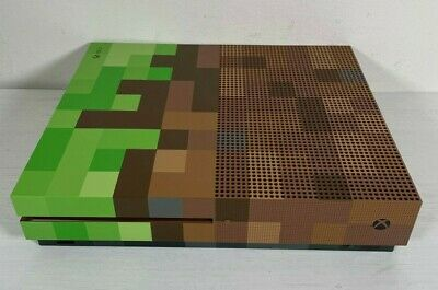 AU377.37 • Buy Microsoft Xbox One S 1TB -- Minecraft Limited Edition -- Console Only --