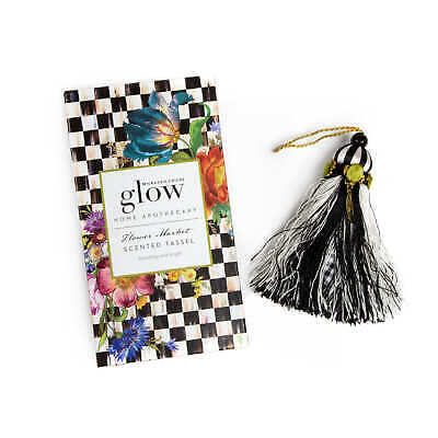 $39.99 • Buy Mackenzie Childs FLOWER MARKET Glow Home Apothecary SCENTED TASSEL NEW M21-my