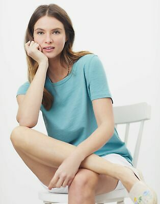 £9.95 • Buy Joules Womens Laundered Classic Crew T-Shirt - Green