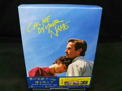 AU135.88 • Buy Call Me By Your Name Blu-ray Collector's Edition Japanese Version
