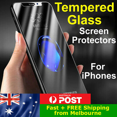 AU3.25 • Buy TEMPERED GLASS Screen Protector IPhone 6s Plus 7 8 X XS XR 11 12 Pro Max Mini