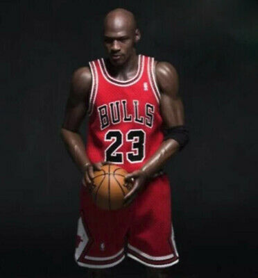 $19.99 • Buy 1/6 Scale Red Chicago Bulls Jersey 23 For Michael Jordan Enterbay Hot Toys Body
