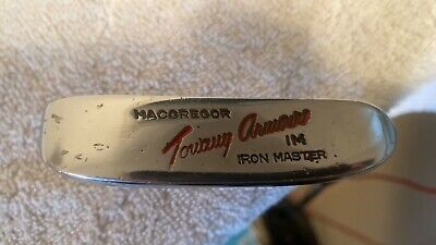 $24.75 • Buy MACGREGOR RH VINTAGE Tommy Armour  IM Iron Master  Copper Face Putter
